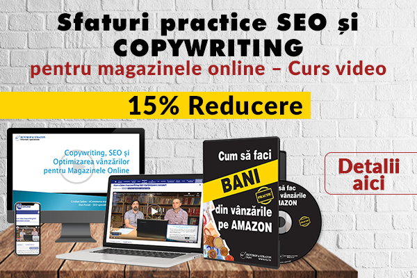Curs SEO si Copywriting - REDUCERE 15%