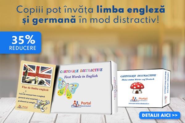 Invata limba engleza si germana in mod distractiv
