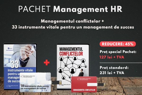 Managementul conflictelor + 33 instrumente vitale pentru un management de succes