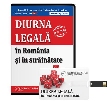 Diurna legala in Romania si in strainatate