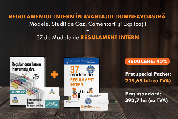 Regulamentul Intern + 37 de Modele de Regulament intern
