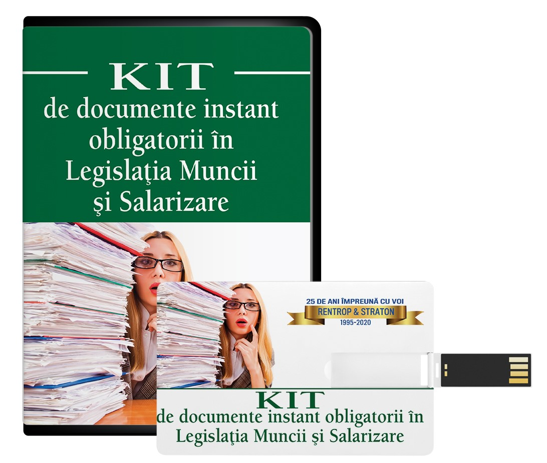 KIT-ul de documente instant obligatorii in Legislatia Muncii si Salarizare