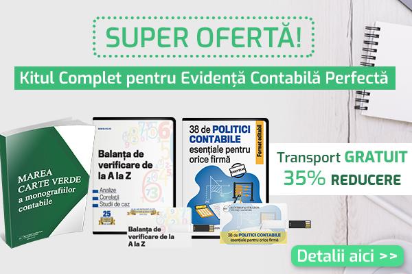Kit complet pentru Evidenta Contabila