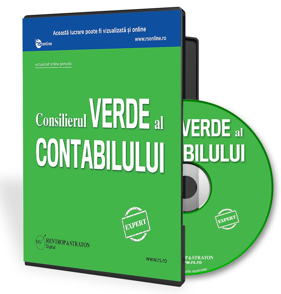 CD Consilierul Verde al Contabilului