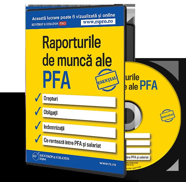 Raporturile de munca ale PFA