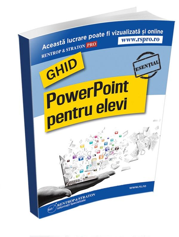 Ghid PowerPoint pentru elevi