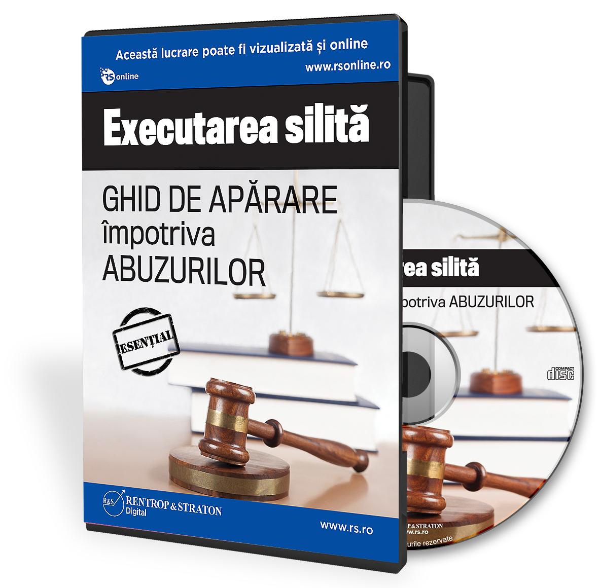 Executarea silita- Ghid de aparare impotriva abuzurilor
