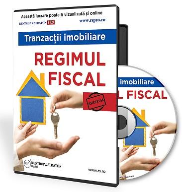 Tranzactii imobiliare. Regimul fiscal