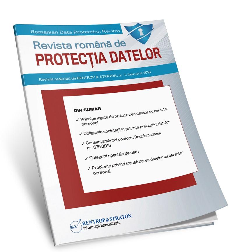 Revista Romana de Protectia Datelor - abonament 12 luni