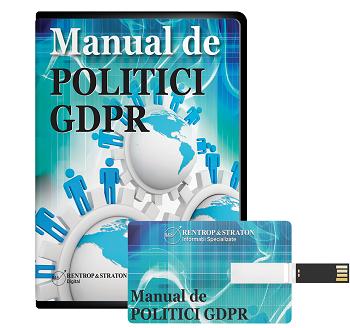 Manualul de politici GDPR