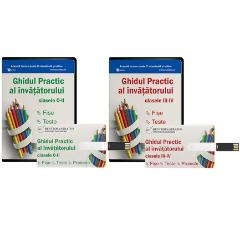 Pachet Ghid invatatori clasele 0-II + Ghid invatatori clasele III-IV