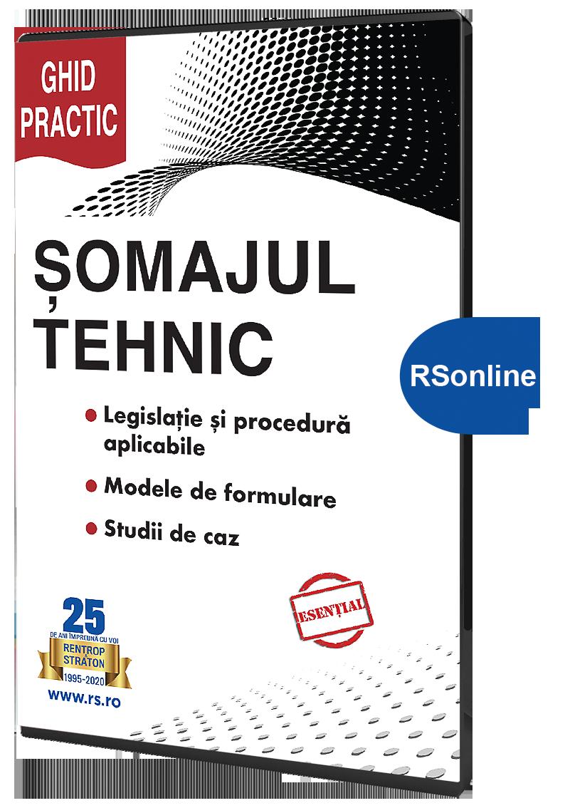 Somajul Tehnic 2020 - Ghid practic varianta RsOnline