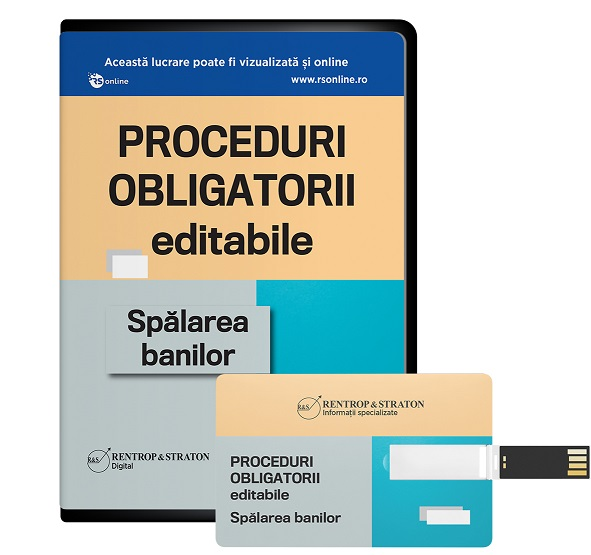 Proceduri Obligatorii. Spalarea banilor