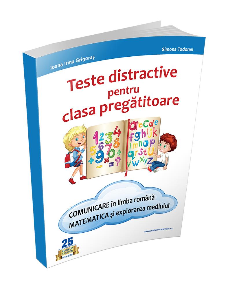 Teste distractive pentru clasa pregatitoare