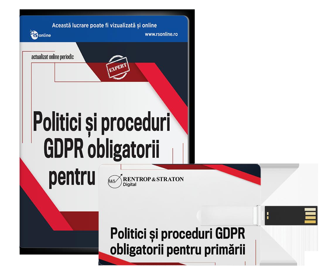 Politici si proceduri GDPR obligatorii pentru primarii