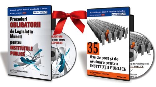 Pachet Legislatia muncii pentru institutiile publice