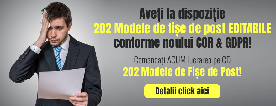 CD 202 Modele de Fise de Post!