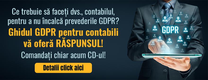 GDPR 2018 - Ghid personalizat pentru Contabili