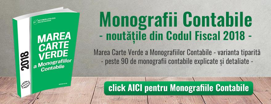 Marea Carte Verde a Monografiilor Contabile 2018 (var tiparita)
