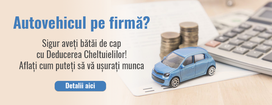 Autoturisme pe firma. Regim fiscal
