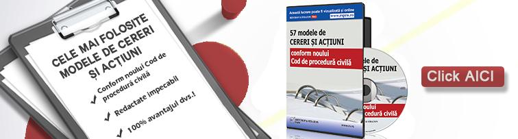 57 de modele de cereri si actiuni