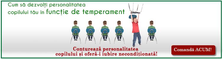 Cum sa dezvolti personalitatea copilului tau in functie de temperament - sfaturi, solutii, strategii