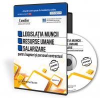 Consilier Legislatia muncii pentru bugetari (CD)
