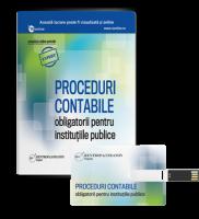 Proceduri contabile obligatorii pentru institutiile publice, 2016