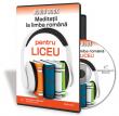 Audiobook Meditatii la limba romana pentru liceu