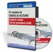 57 Modele cereri si actiuni conform noului Cod de procedura civila