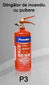 Stingator de incendiu Tip P3
