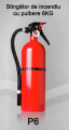 Stingator de incendiu tip P6