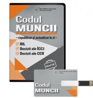 Stick Codul Muncii republicat si actualizat la zi