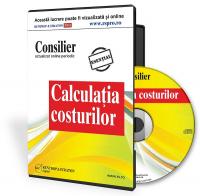 CD Consilier Calculatia Costurilor