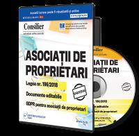 Consilier Asociatii de Proprietari - abonament 12 luni - cu 4 actualizari
