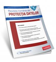 Revista Romana de Protectia Datelor - abonament 6 luni