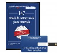 147 de modele de contracte civile si acte comerciale