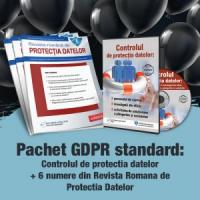 Pachet complet GDPR - Revista Romana de Protectia Datelor + Controlul de GDPR - abonament 6 luni