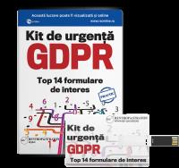 Kit de urgenta GDPR - Top 14 formulare de interes