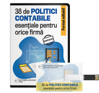 38 de politici contabile esentiale pentru orice firma. Format editabil