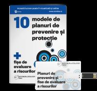 10 modele de planuri de preventie si protectie + fise de evaluare a riscurilor SSM