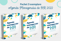 Pachet 3 exemplare: Agenda Managerului de HR 2022