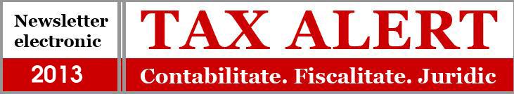 Newsletter Tax Alert